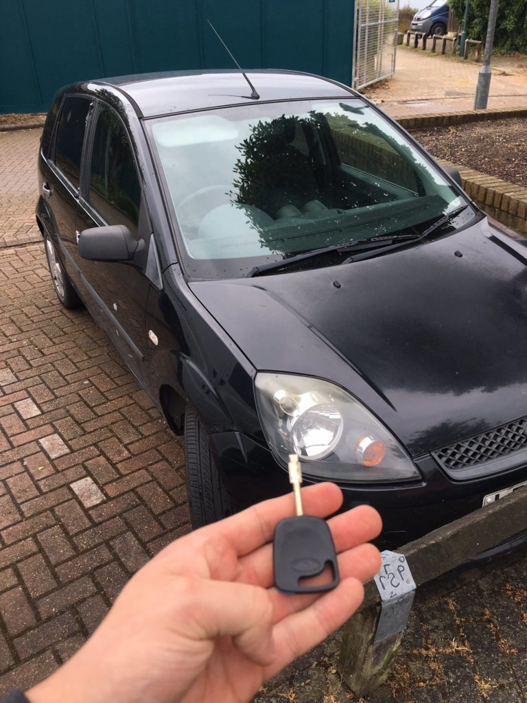Ford Transit Broken Keys