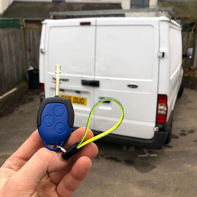 Ford Transit Broken Key Replacement