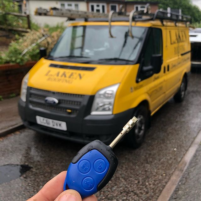 Ford Transit Key Recovery
