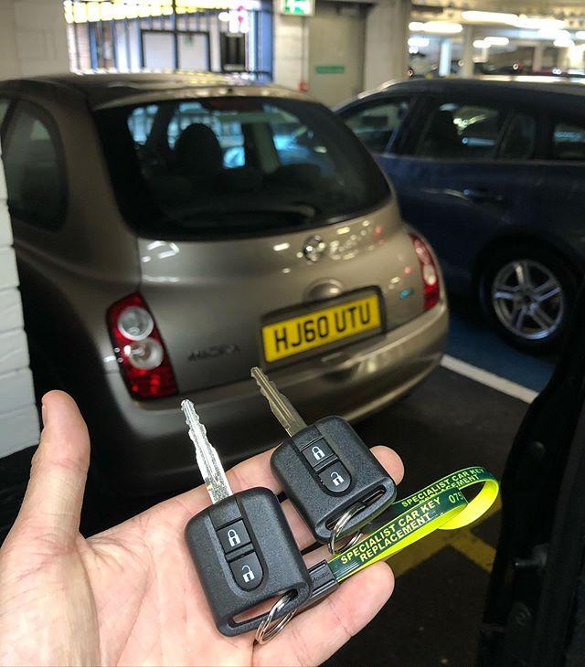 Nissan Spare Key Cut