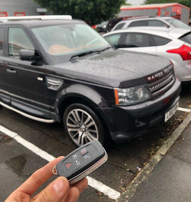 Range Rover Key Programming