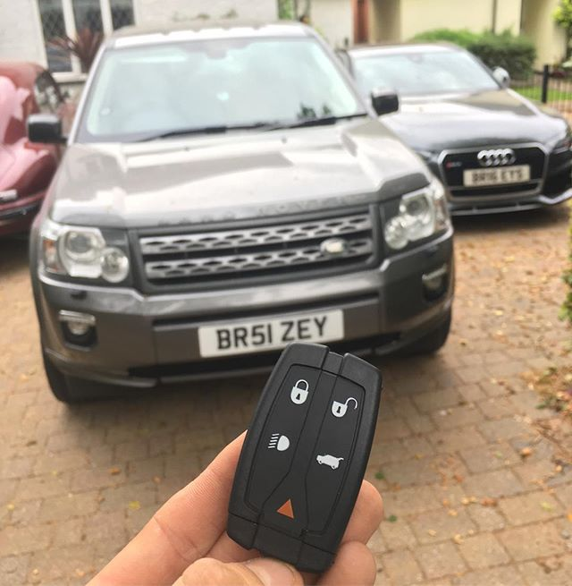 Range Rover Key Replacement