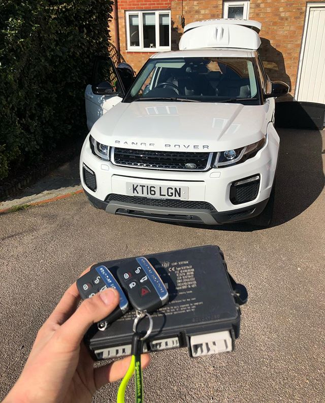 Range Rover Lost Keys