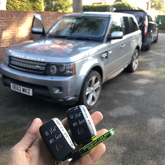 Range Rover Spare Keys